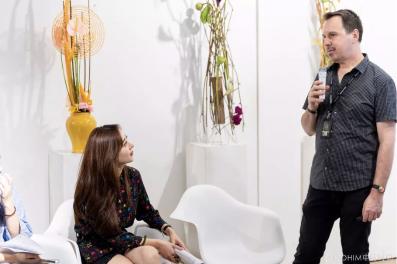 世界花艺冠军MARK PAMPLING讲述花艺竞赛故事