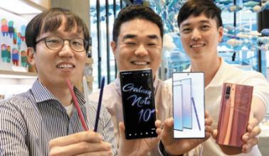 全新三星Galaxy Note10系列 智慧型S Pen为生活添加乐趣