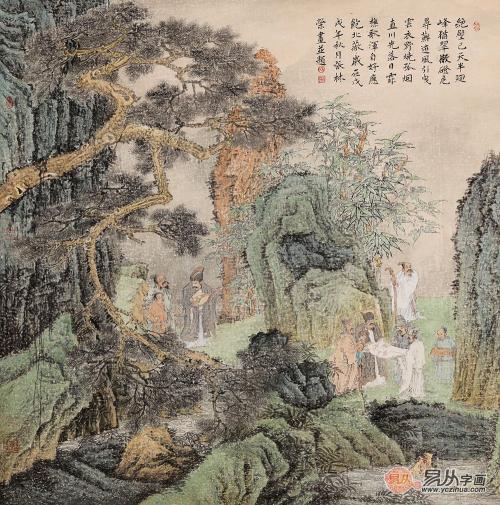 浅析:中美协张林荣的绘画艺术简介