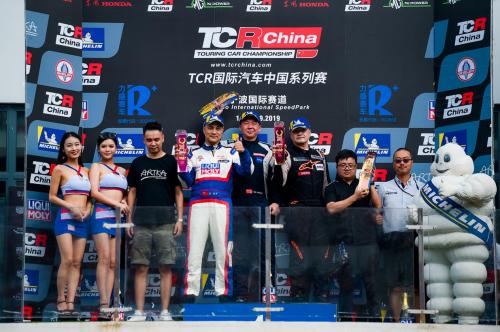 TCR China宁波站 MG XPOWER首夺厂商车队双冠