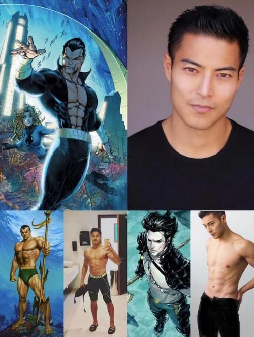 """《黑豹2》反派""""海王纳摩""""或由加拿大籍华裔男演员唐嘉壕出演"""