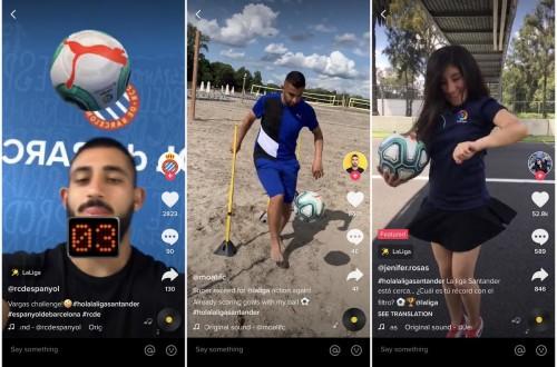 西甲联赛与TikTok达成合作 发掘享受足球乐趣新方式