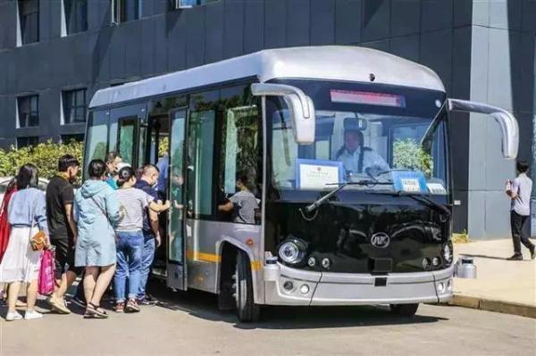 """全球首张自动驾驶商用牌照发放,安凯无人驾驶巴士正式""""持证上岗"""""""