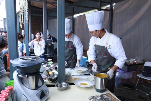 """烹饪无国界 美善品助力工匠精神 美善品赞助第三届""""赖声强杯""""烹饪技能大赛"""