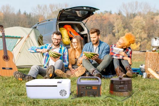 电小二户外电源1000双十一新品重磅首发,储能行业再添大容量佳品