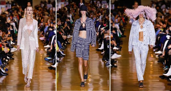 曼妮芬×KOCHÉ亮相巴黎时装周,彰显跨界融合新主张