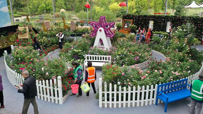 四大国际花园设计师,荟萃全球花卉,世界名花展国庆开幕