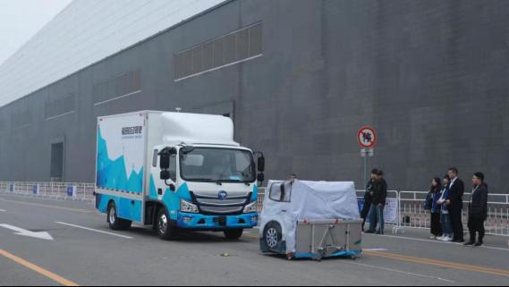 亮相2019世界智能网联汽车大会 福田汽车自动驾驶技术智领未来