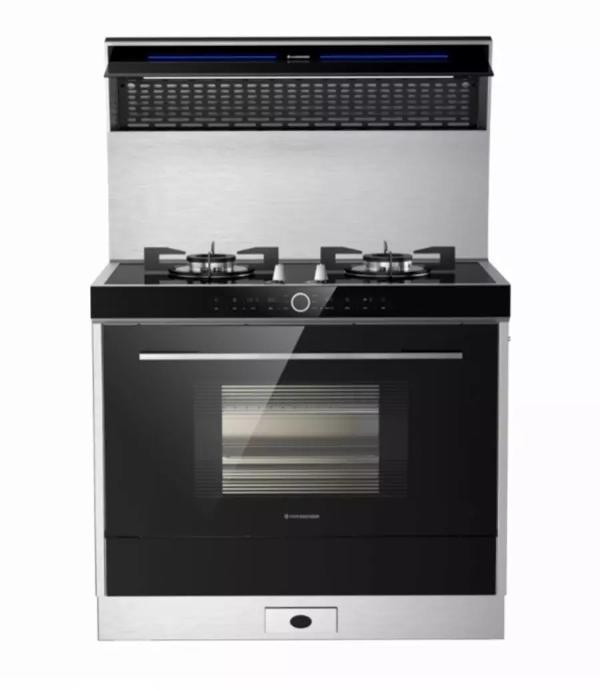 谁说烤箱只能做烘焙?来看看火星人的Q5烤箱集成灶!