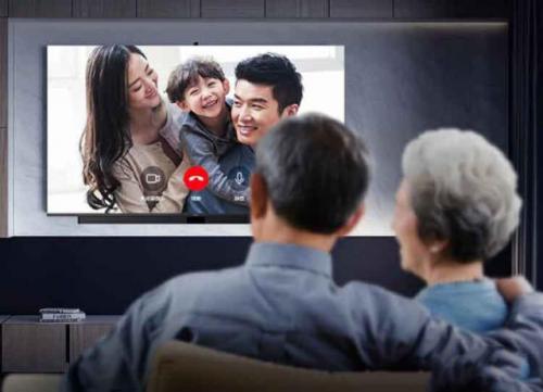 华为智慧屏:拉近家人距离,让亲情永久在线