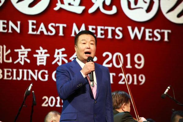 """""""当东方遇见西方""""十周年音乐会在京举行 华彬推动国粹艺术发展"""