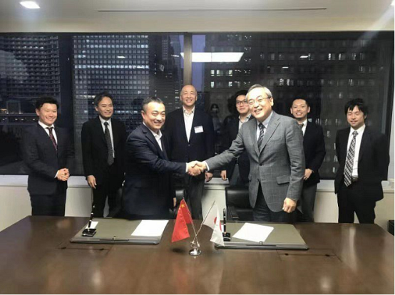 天元物流集团与日邮集团签订战略合作协议