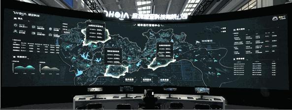 丝路视觉打造数字孪生城市,为智慧城市建设赋能