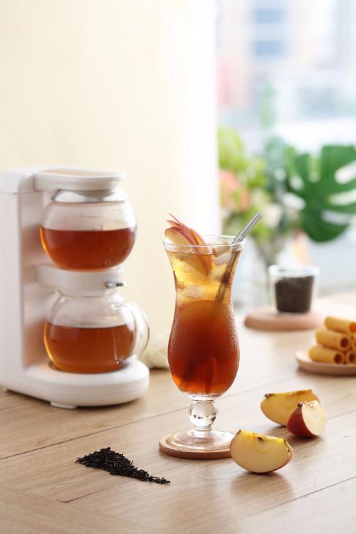 鸣盏沙漏壶:3分钟速泡茶汤,网红茶饮轻松自制!