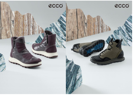 ECCO EXOSTRIKE 突破系列 势在必行 尽情探索冬日户外
