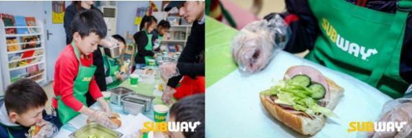 赛百味携手绿洲食物银行,共同举办世界三明治日公益活动