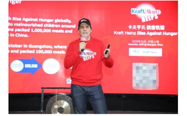 """暖心!卡夫亨氏在""""大雪""""天完成包装190,000份营养餐!"""