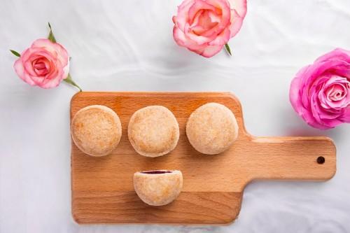 花miao玫瑰点心倾情体验,健康美食一键打卡