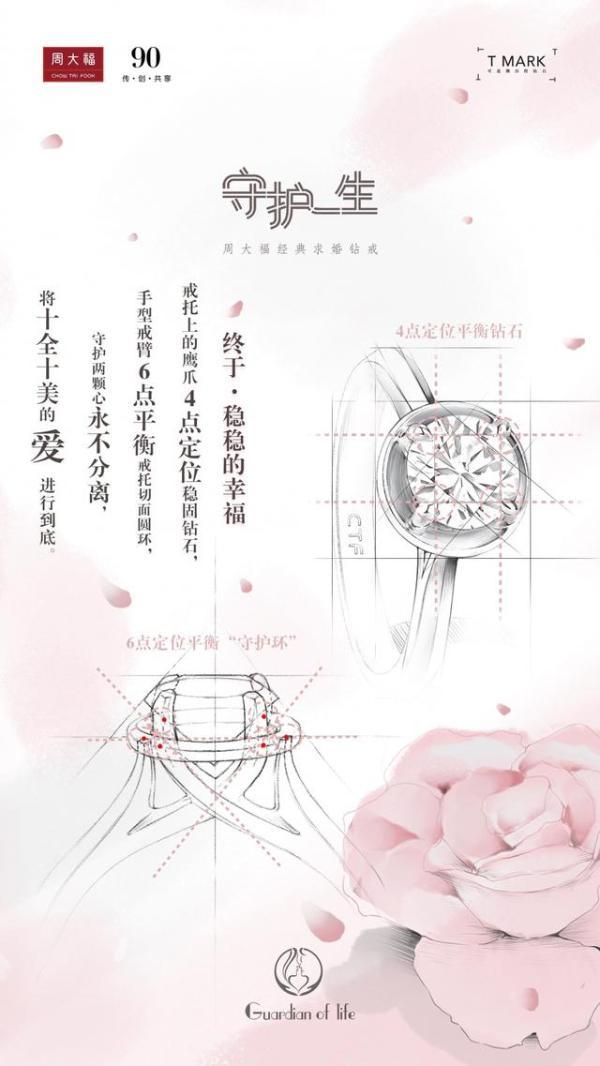 新品发布会 周大福90年匠心倾注,打造「守护一生」经典求婚钻戒