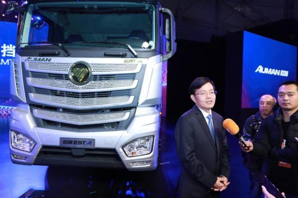 宋术山:明年卖1.5万辆 欧曼要做自动挡重卡领导者