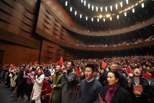 亿达之声绕江城 壮美赞歌献祖国
