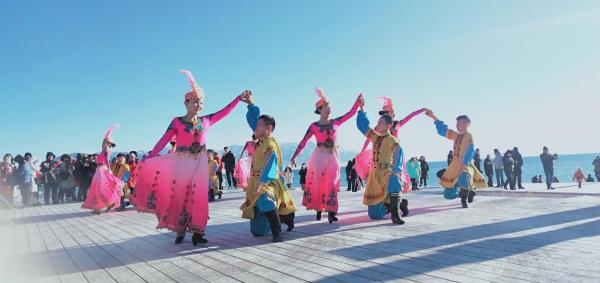 冬季有温度,2019赛里木湖千人徒步赛盛大举行