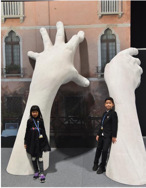 51Talk学员黎子琳变身中国环境报双语小记者 报道联合国气候变化大会