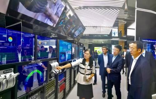 亿达中国访问华为集团,强强联手共商智慧产城合作