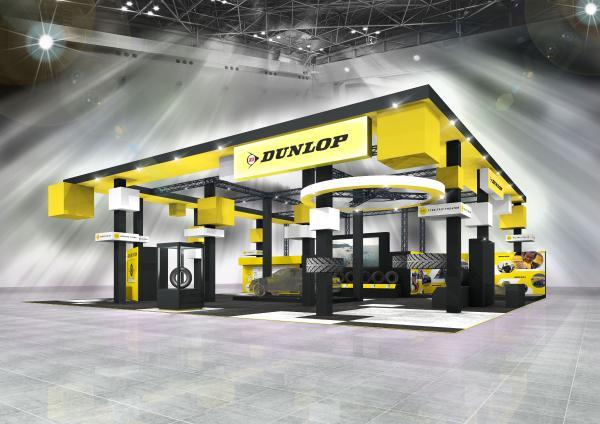 邓禄普轮胎即将出展2020东京改装车展