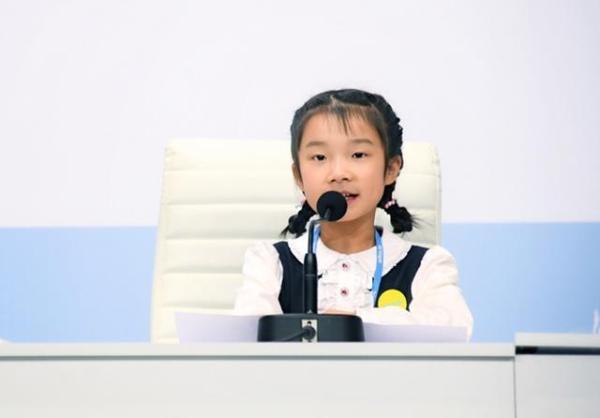 9岁中国女孩联合国演讲为中国环保发声 感谢51Talk赋予她超强英语能力