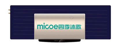 平板太阳能热水器品牌-四季沐歌用心温暖亿万家庭