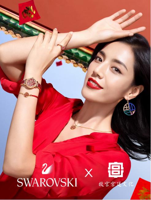 子鼠迎春,福这就到 施华洛世奇携手故宫宫廷文化,倾情呈现2020年中国新年系列