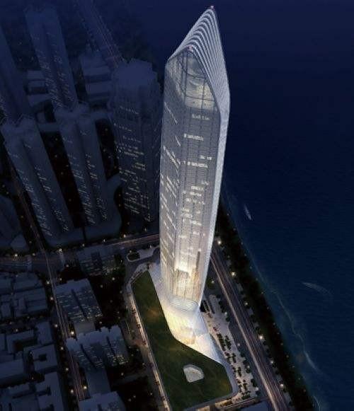 蒂森克虏伯电梯牵手汉口滨江第一高楼,打造长江新航标