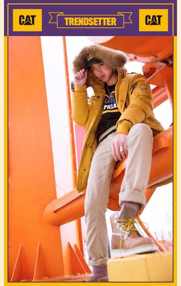 新年宅男翻身第一步,卡特大黄靴时尚搭配,没有什么不可能!