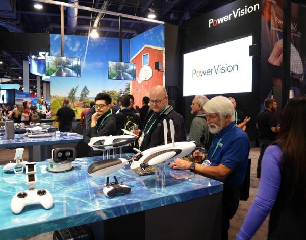 CES2020 | PowerVision臻迪展示PowerEgg X:黑科技很吸睛