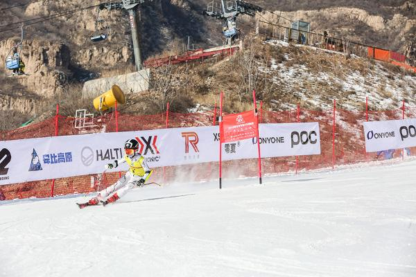 2019年北京市青少年滑雪锦标赛在延庆区万科石京龙滑雪场开赛