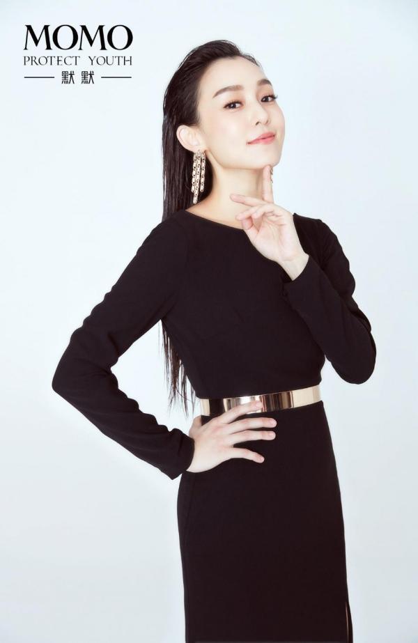官宣 冻龄女神范玮琪担任默默品牌首位代言人