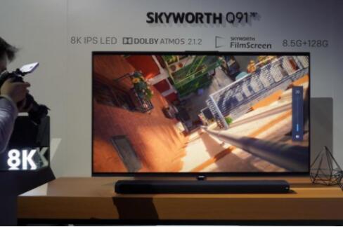 获誉大满贯创维8K电视引领未来视觉潮流形态