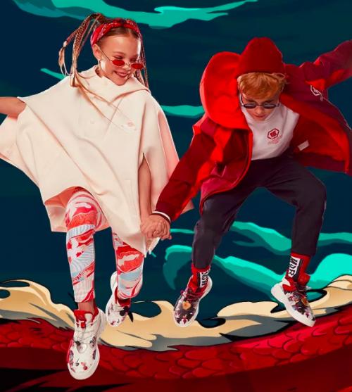 当传统文化遇上时尚潮流 安踏儿童鼠咬天开成JD国际街舞大赛战服