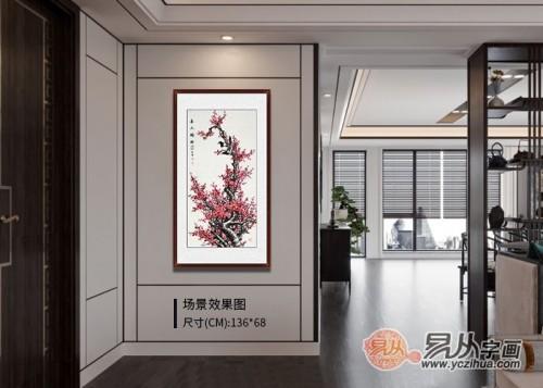 室内墙面挂画指南,家里有四大黄金位置,这样挂画一定不会错