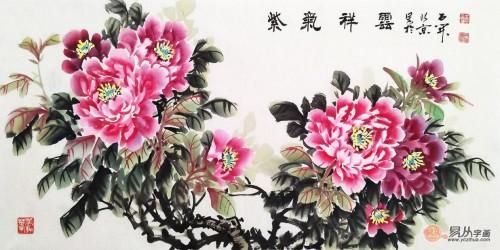 客厅墙挂字画就选这些,精品花鸟画值得推荐