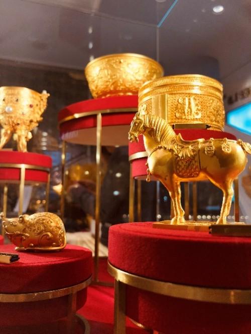 越王古法黄金顶级商圈三店齐开 掀起庚子新年国潮新风暴