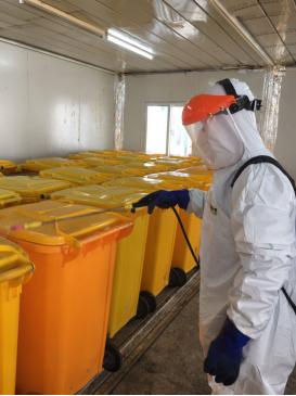 高能环境参与多地疫情防控,运营处理高危险医疗废弃物与污水