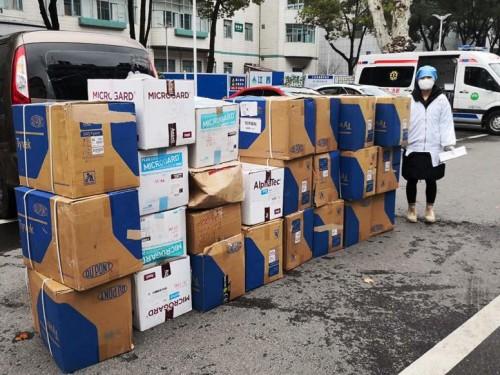 驰援抗疫一线, Osann欧颂向武汉医院捐赠3000套医用防护服!