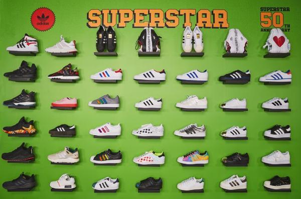 阿迪达斯携手天猫超级品牌日,见证经典鞋款 Superstar 50 周年创变