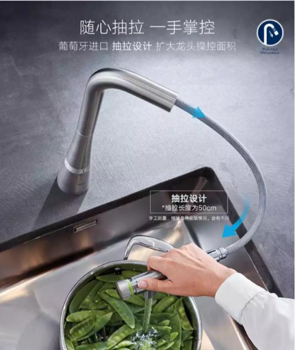 现在厨房智能段位这么高?一个水龙头居然能暗藏这么多玄机?!