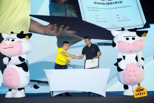 让中国消费者真正能喝上放心牛奶,不如从做养牛合伙人开始