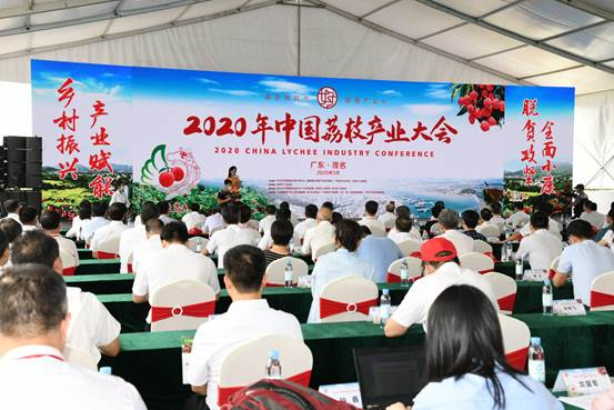 2020年中国荔枝产业大会在广东茂名开幕