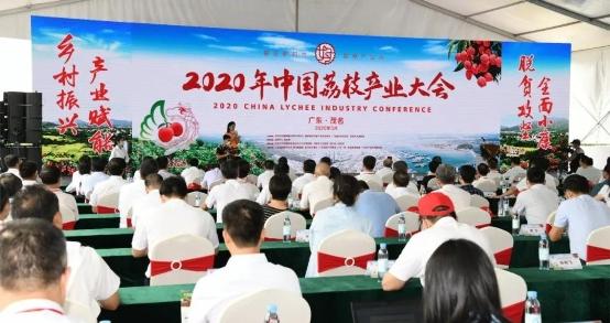 2020年中国荔枝产业大会在茂名开幕 加快推进我国荔枝产业高质量发展