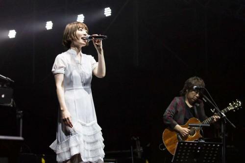 花泽香菜专场音乐会在酷狗开唱,演绎歌手声优的双面人生